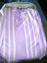 pink and white stripe button-up shirt Colorado Springs, 80910