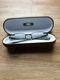 silver-colored framed eyeglasses with case Victoria, V8W 1M8