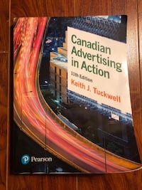 Canadian Advertising in Action, 11th Edition , Keith J. Tuckwell Markham