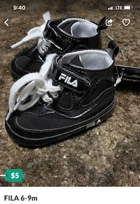Shoes for baby FILA size 6-9 months