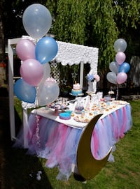 Gender reveal decoration  Vancouver, V6B 0A2