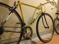 yellow and black road bike Vancouver, V6B 2Z5