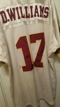 Doug Williams throwback size 50 made by Mitchell and Ness Washington