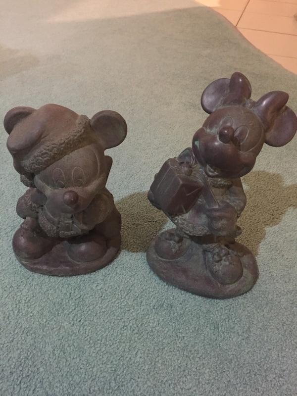 mickey and minnie mouse christmas lawn ornaments