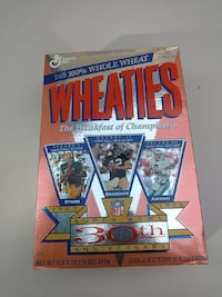 Wheaties 30 th super bowl anniversary Westminster, 21157