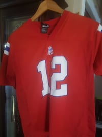 red 12 jersey shirt Eastern Passage, B3G 1B9
