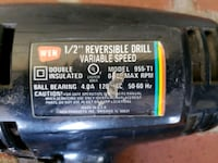 "WEN 1/2"" reversible drill, variable speed  San Bernardino, 92404"
