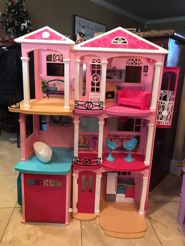 Used Barbie Dream House For Sale In Atwater Letgo