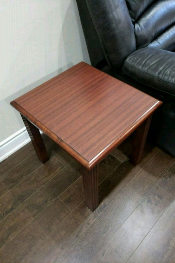 Solid wood side table (four @ $30 each)