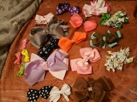 assorted color bow accent headband lot Bakersfield, 93309