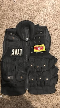 black Swat zip vest with pockets Marshall, 20115