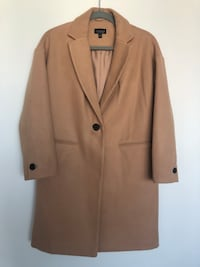 Topshop women's coat.
