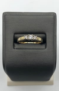 14k yellow gold and diamond ring Edmonton, T6C