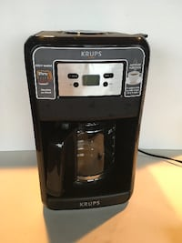 Krups Savoy 12 cup Programable Coffee Maker with Glass Carafe