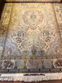Persian handmaid Silk carpet rug Port Moody, V3H 5L6