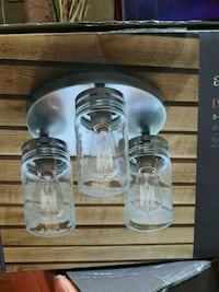Brand new3 light flushmount ceiling fixture Baltimore