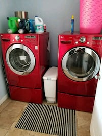 LG front load washer and dryer set   Mooresville, 28115