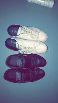 Two pairs of assorted LACOSTE shoes Mississauga, L5N 8J7