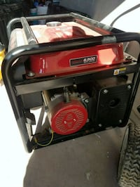 red and black portable generator San Jose, 95130