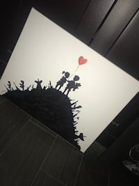 Banksy canvas pick your weapon Anaheim, 92807
