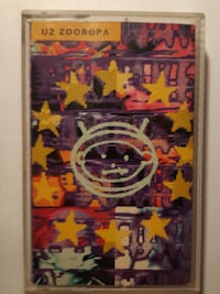 U2-Zooropa Cassette Tape  Good condition  - tested plays well  (Ref #