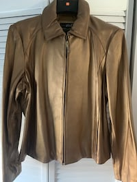 Ladies Bronze Leather Jacket Lanham, 20706