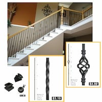 Iron stair parts  Coram, 11727