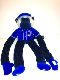 Toronto Blue Jays Plush Jersey Rally Monkey By Forever Collectibles London