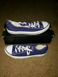 blue-and-white Vans low-top sneakers District Heights, 20747
