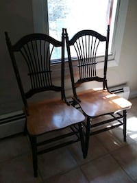brown wooden windsor chair 789 km