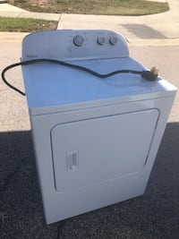 White front-load dryer Raleigh, 27616