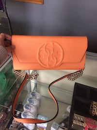 Orange Guess leather crossbody  Toronto, M9N 1V8