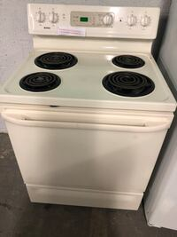 KENMORE coils Electric stove 4 months warranty