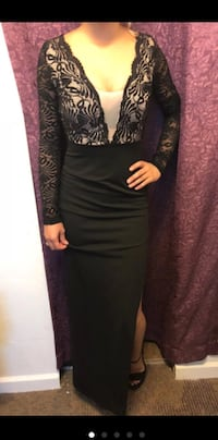 Black and nude lace long dress  Tucson, 85706