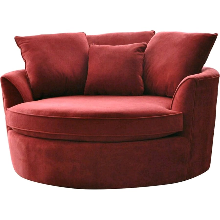 Marta Barrel Chair Ruby Red (NEW)