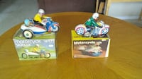 Tin toy wind motorcycles FOLEY