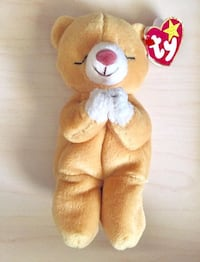 """TY Beanie Babies """"HOPE"""" Praying Bear Has Tag  March 23 1998 Tampa, 33613"""