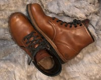 AUTHENTIC LEATHER RED WINGS MENS 7 WOMENS 8/9 Hamilton