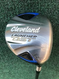 Cleveland Launcher DST 17 Degree Loft 4 Wood, Stiff Flex Houston, 77064