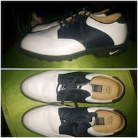 pair of white-and-black Nike sneakers collage West Kelowna, V4T 1K7