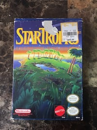 Nintendo NES StarTropics 1991 Complete Box and Inserts