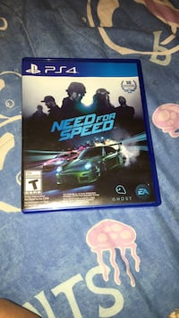 Need For Speed PS4 game case Omaha, 68108