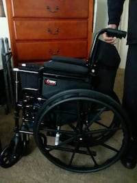 New wheel chair, walker and cane included