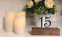 Acrylic table numbers  Toronto, M5T 2R4