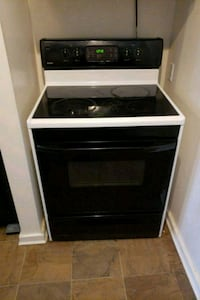 black and white induction range oven Middletown, 45044