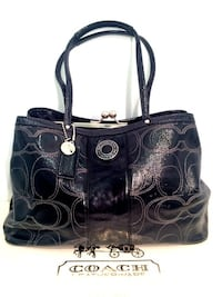 Coach Patent Leather with KissLock North Bergen
