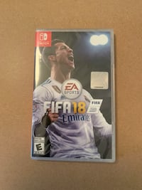 FIFA 18 - Nintendo Switch- Factory Sealed Vancouver