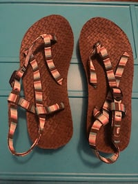 """Chaco"" like sandals... Only worn 2 times. Size 5 $14.98 at Academy  Williamson, 30224"