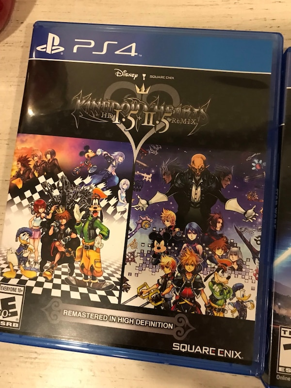 Kingdom Hearts PS4 game case
