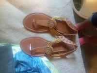 pair of brown leather sandals Ozark, 36360